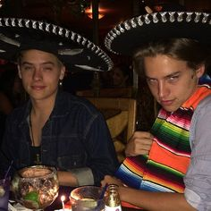 "classymike44: ""Dylan and Cole Sprouse on their 22nd birthday. """
