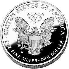 American Silver Coin - One Dollar - 1 oz. fine silver - worststockmarketcrashes.com
