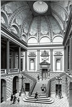 [Grand Theatre,Bordeaux, France by Victor Louis(1773~80)[ 보르도 대극장, 빅토르 루이