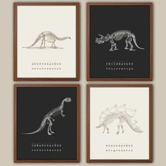 Dinosaur Wall Art Kids Dinosaur Art Baby Boy Nursery Art Dinosaur prints Playroom Wall Decor Natural History Boys Room Decor is part of Nursery art boy s can be selected from the drop down men - Playroom Wall Decor, Boys Room Decor, Bedroom Kids, Nursery Decor, Baby Decor, Trendy Bedroom, Artwork For Bedroom, Nursery Artwork, Nursery Boy