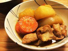 簡単おかず煮物☆鶏で肉じゃが!鶏じゃがの画像