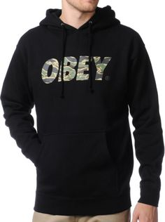 Camo Obey Hoodie