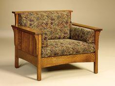 High Back Slat Chair