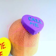 Call Me Conversation Heart Pillbox by ChefBizzaro on Etsy, $40.00