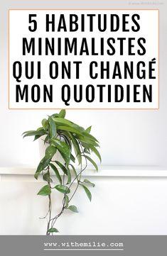 Change, Lifestyle Blog, Simple, White Washed Furniture, Minimalism