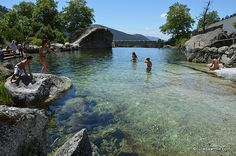 Loriga: One of Portugal's Finest River Beaches - by Julie Dawn Fox 24.08.2014   Once you've seen photos of the turquoise rock pool nestled in the mountains, you'll understand the appeal.
