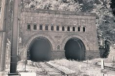 The Simplon Tunnel is an Alpine railway tunnel that connects the Swiss town of Brig with Domodossola in Italy, though its relatively straight trajectory does not run under Simplon Pass itself.