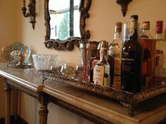 Bar + bandeja Bar tray