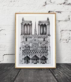 notre dame drawing architecture drawing architecture drawingskills