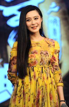 Fan Bingbing Promotes New Movie In Beijing  Fan Bingbing in Dolce & Gabbana