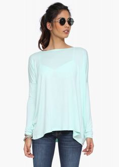The Necessary Basic Shirt in Mint | Necessary Clothing