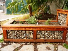 Things to consider before making DIY raised planters - Making DIY raised planters for your garden or patio is one of the best activities that you can perform this weekend. It will not only give a personali. Raised Garden Beds, Raised Beds, Raised Planter Boxes, Gabion Wall, Rock Retaining Wall, Garden Boxes, Garden Structures, Lawn And Garden, Backyard Landscaping