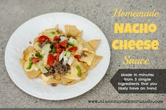 Homemade Nacho Cheese Sauce