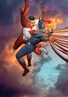 Man Vs, Duke, Comic Art, Wonder Woman, Superhero, Comics, Artwork, Tvs, Dragon Ball