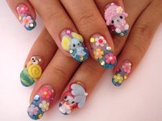 Japanese Nail Art | Here's 42 examples of Japanese nail art for you to enjoy!