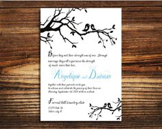 Custom Wedding Invitations    Created for you by our designers, our invitation designs will set the perfect tone for your wedding day. With
