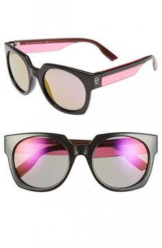 24 Pairs of Sunglasses for the Soon-to-Be-Sunny Weather - McQ by Alexander McQueen Retro sunglasses - http://www.flare.com/fashion/24-stylish-sunglasses-for-spring-summer-2015/#gallery_page17