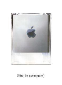 Power Mac G4 Cube - (Hint: It's a computer.)