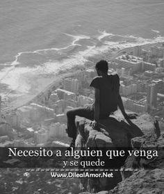 Necesito a alguien que me ame