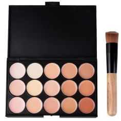 SHARE & Get it FREE | 15 Colors Contour Face Cream Makeup Concealer Palette with Makeup BrushFor Fashion Lovers only:80,000+ Items • FREE SHIPPING Join Twinkledeals: Get YOUR $50 NOW!