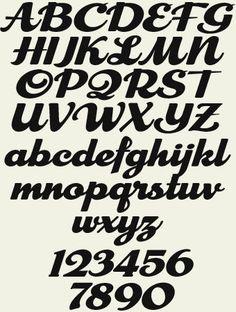 Resultado de imagem para chicago script font