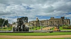 Witley Court ruins...destroyed by fire in 1937
