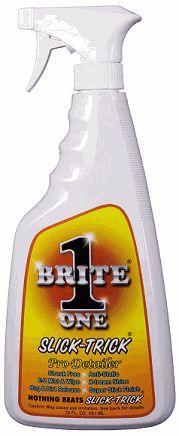 Brite 1 Slick Trick, Professional Spray Detailer, 20oz - BRITE 1 SHOW QUALITY SPRAY WAX - White's Pit Stop Harley Davidson Gifts, Spray Bottle, Cleaning Supplies, Cherry, Cleaning Agent, Prunus, Airstone