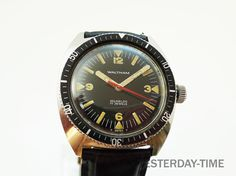32cc87c1b Waltham 1960's Swiss 17 Jewel Stainless Steel by Yesterdaytime, £189.95.  Love vintage watches