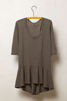 Anthropologie - High-Low Peplum Pullover