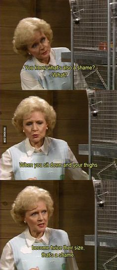 Betty knows what's up