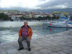The old port of Crikvenica, at the Adriatic Sea.