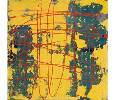 Yellow Square | Artist: Mary Didoardo | Gallerique.com