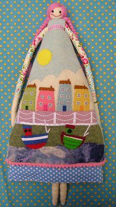 Seaside dolls for Coastal Creatives Gallery by Annie Montgomerie, via Flickr