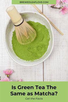 Green Tea Drinks, Green Teas, Green Tea Ice Cream, Green Tea Recipes, Drinking Tea, Matcha, Brewing, Ethnic Recipes, Food