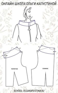 Pin by Rita Sy on sewing Easy Sewing Patterns, Clothing Patterns, Dress Patterns, Pattern Cutting, Pattern Making, Fashion Sewing, Diy Fashion, Sewing Collars, Sewing Blouses