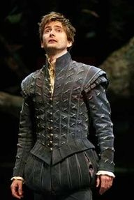 David Tennant in a Doublet...oh, yes.