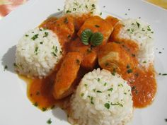 Pechugas en salsa de verduras