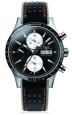 Ball Watches Fireman Storm Chaser Pro automatic chronograph