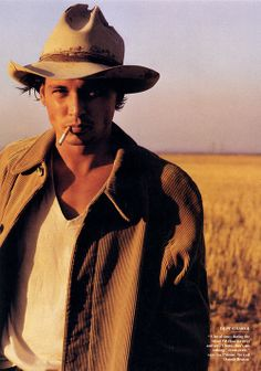 #ThrowbackThursday: Johnny Depp for #VanityFair in 1997. Makeup by me. Xo Carol