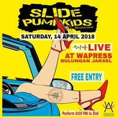 Slide Pumpkids Live at Wapress Bulungan Jaksel