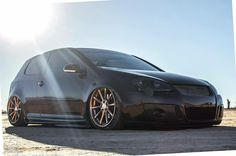 #Volkswagen #Golf #Mk5 #Bagged #Slammed #Modified