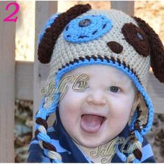 ni-os-gorros-animal-dise-o-crochet-sombrero.jpg (500×500)