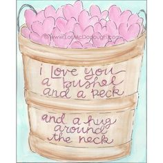what I say to my grandchildren......art by whimsystudios on Etsy