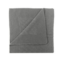 moresi for brebì grey cashmere baby blanket