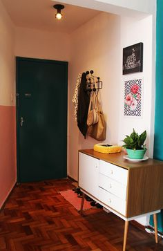 A minha sala de estar, janta, home office… Hall de entrada   #decoracao Decor, Furniture, Interior, Cabinet, Home Decor, Credenza, Inspiration, Storage, Interior Design
