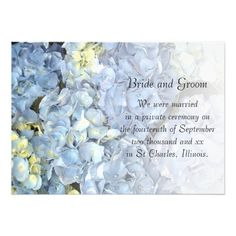 ShoppingBlue Hydrangea Marriage Announcementtoday price drop and special promotion. Get The best buy
