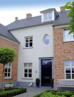 PVC voordeur. Realisatie van Belisol Leuven.