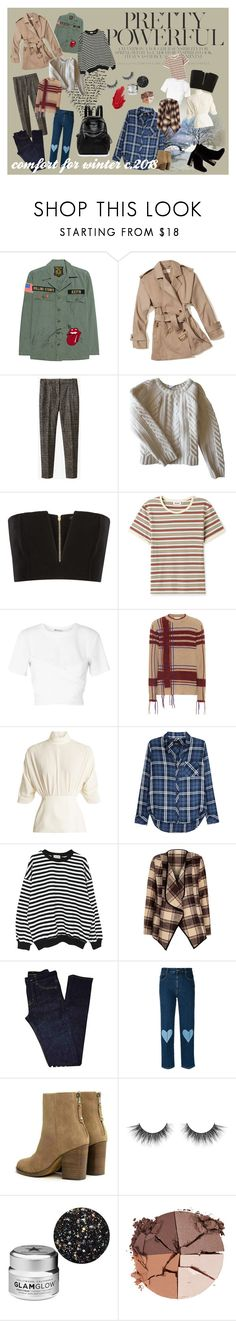 """""""comfort for winter"""" by amelia-mcrae on Polyvore featuring MadeWorn, MICHAEL Michael Kors, Massimo Dutti, Anine Bing, Balmain, T By Alexander Wang, Tory Burch, Emilia Wickstead, Rails and WithChic"""