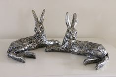 Beautiful Champagne Bronze Effect Lying Down Hare In Length Orange Grove, Hare, Champagne, Bronze, Crafts, Accessories, Shopping, Beautiful, Manualidades