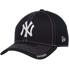 90fd11855e9 New Era New York Yankees Navy Blue Neo 39THIRTY Stretch Fit Hat